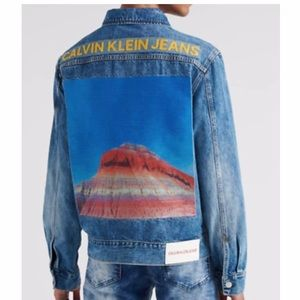 Oversized Calvin Klein | Denim Jacket NWT